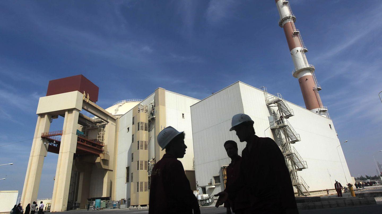 Planta nuclear de Busher, en Irán (Reuters)