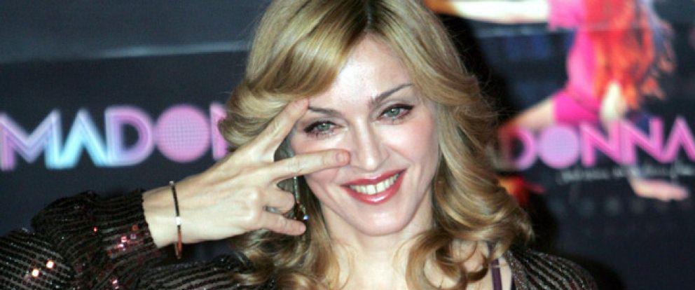 La noche incompleta de Madonna y el hijo de Kennedy