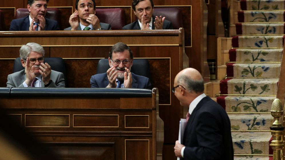 Foto: Montoro tras su intervención. (EFE)