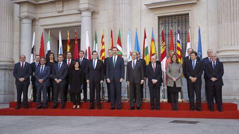 La Conferencia de Presidentes Autonómicos, en imágenes