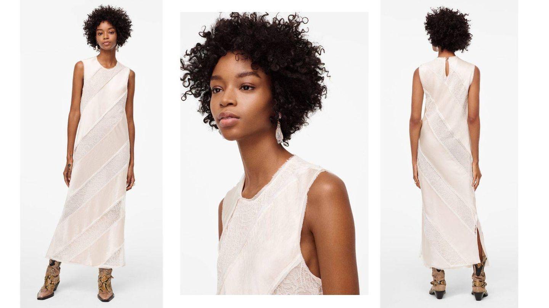 Vestido de edición limitada de Zara. (Cortesía)