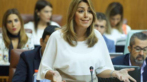 Susana Díaz vota con C's en apoyo al Gobierno ante el desafío secesionista