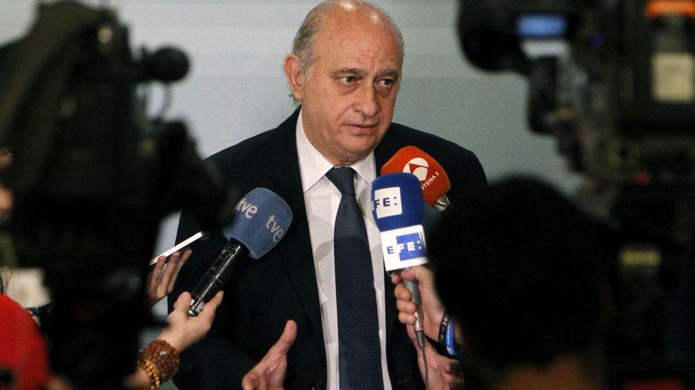 Foto: El exministro del Interior Jorge Fernández Díaz. (EFE)