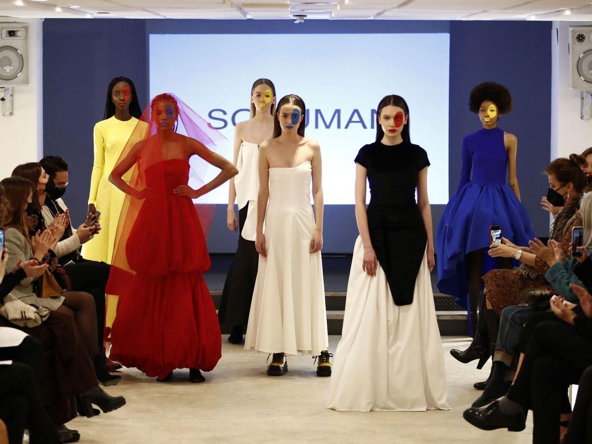 Foto: Sohuman, en la London Fashion Week.