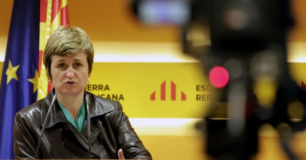 La portavoz de ERC, Anna Simó. (EFE)