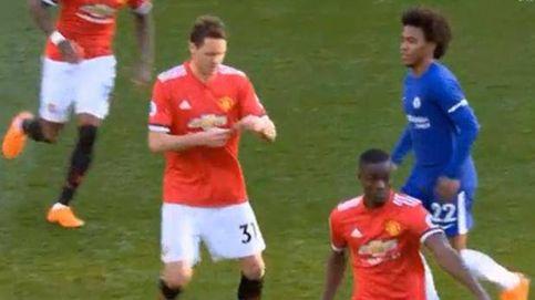 ¿Qué ponía la extraña nota que Mourinho dio a Matic ante el Chelsea? El serbio lo desvela