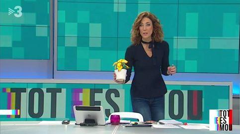 TV3 desautoriza a una presentadora por un guiño a la causa independentista