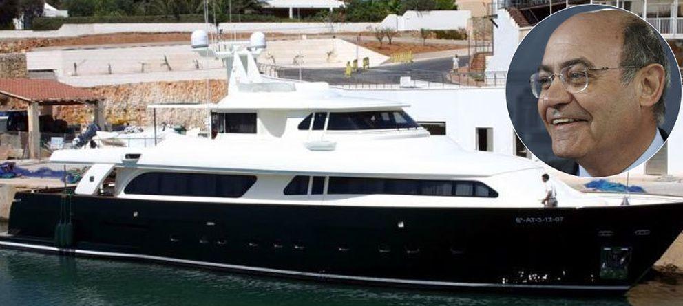 Foto: La embarcación, vista desde fuera (Vanitatis)