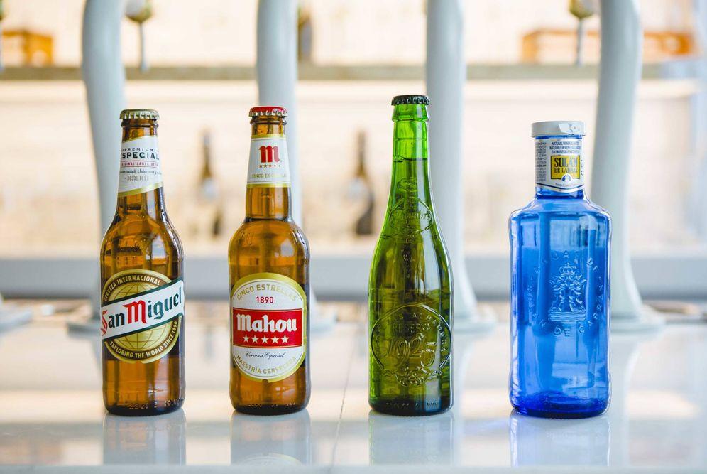 Foto: Estas son las principales marcas del grupo Mahou-San Miguel. (Imagen facilitada por la compañía)