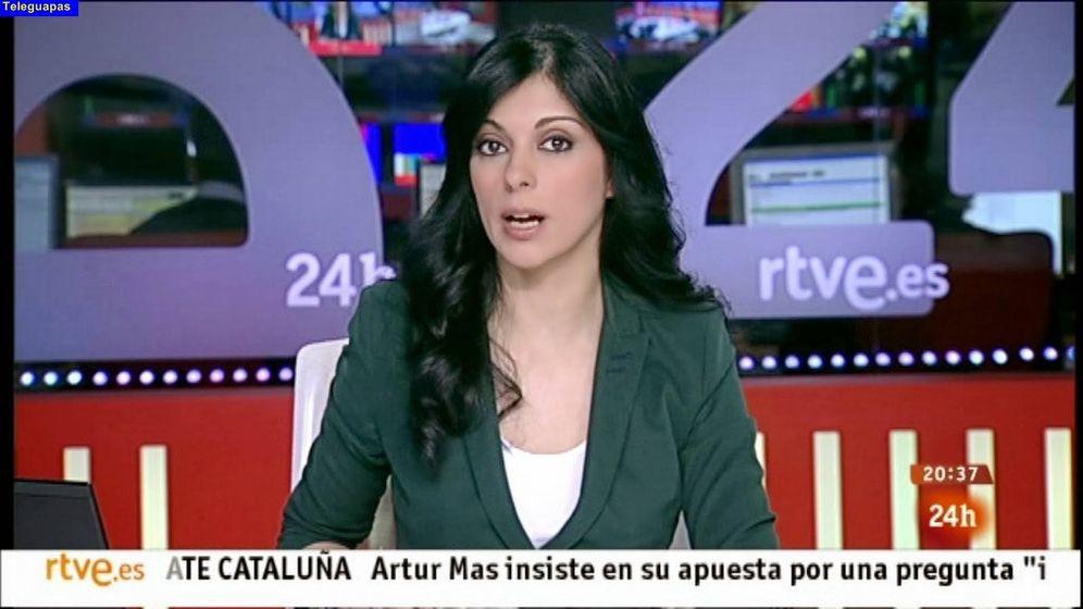 Foto: La periodista Sirún Dermijián. (RTVE)