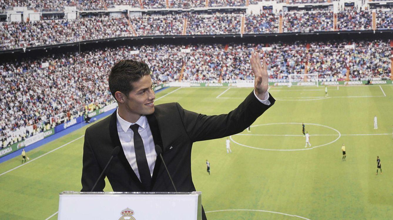 Foto: James Rodríguez se despide del Real Madrid: jugará cedido en el Bayern de Múnich