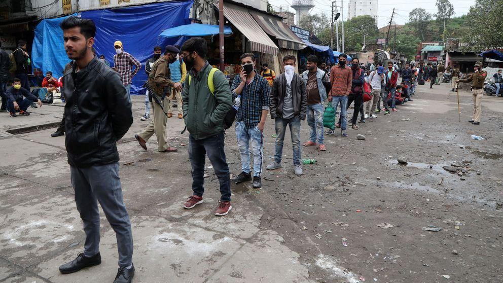 Encerrar a 1.300 millones de un plumazo: la bomba del coronavirus está en la India