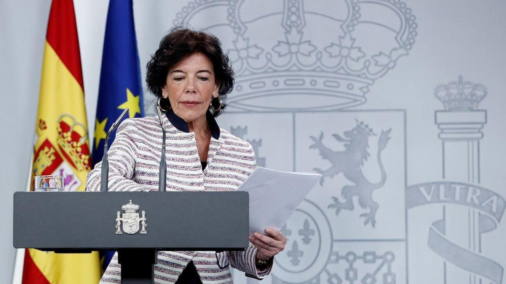 Foto: La ministra portavoz del Gobierno, Isabel Celaá. (EFE)