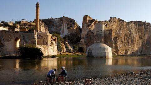 La joya arqueológica turca que desaparece bajo el agua por la construcción de una presa