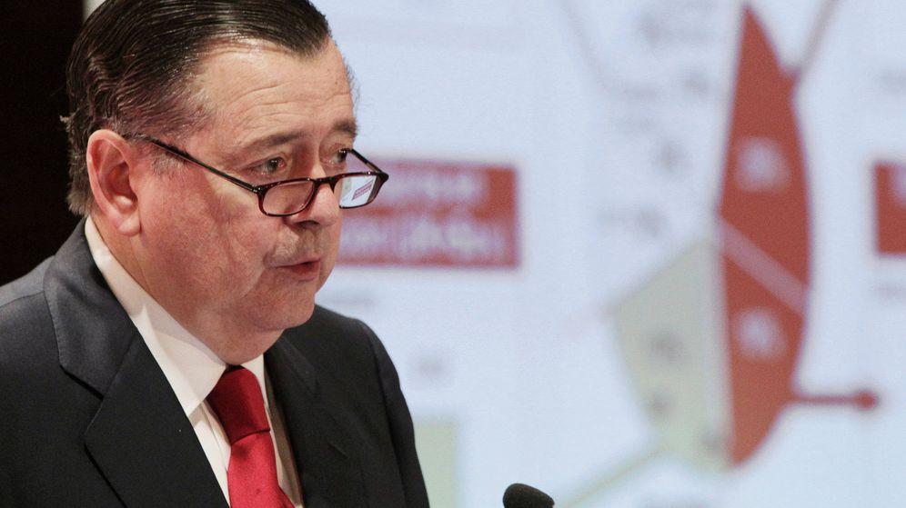 Foto: Fotografía de archivo del consejero delegado del Santander, Alfredo Sáenz. (EFE)