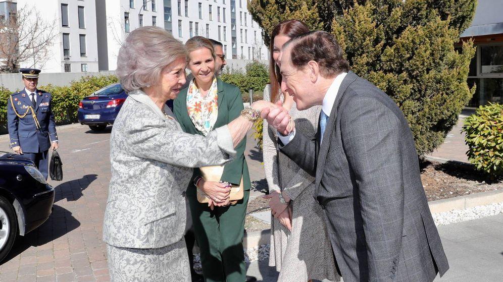Foto: La reina Sofía con la infanta Elena. (Casa Real)
