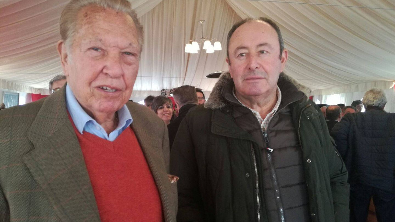 Julio Ayesa y José Luis Miguel Rodríguez. (Vanitatis)