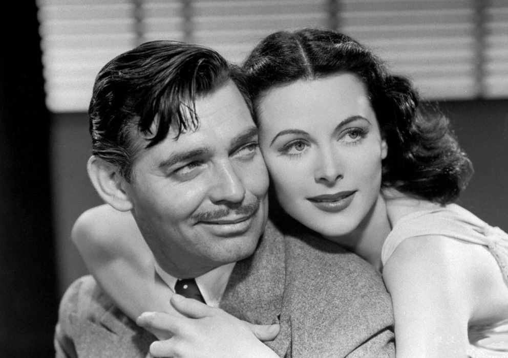 Foto: Clark Gable y Hedy Lamarr en 'Camarada X'