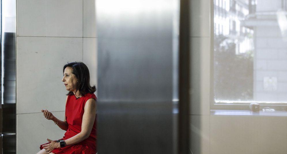 Foto: Margarita Robles, portavoz socialista en el Congreso, este 27 de julio en la Cámara Baja. (EFE)