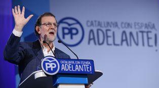 Rajoy en Barcelona y el independentismo en desbandada
