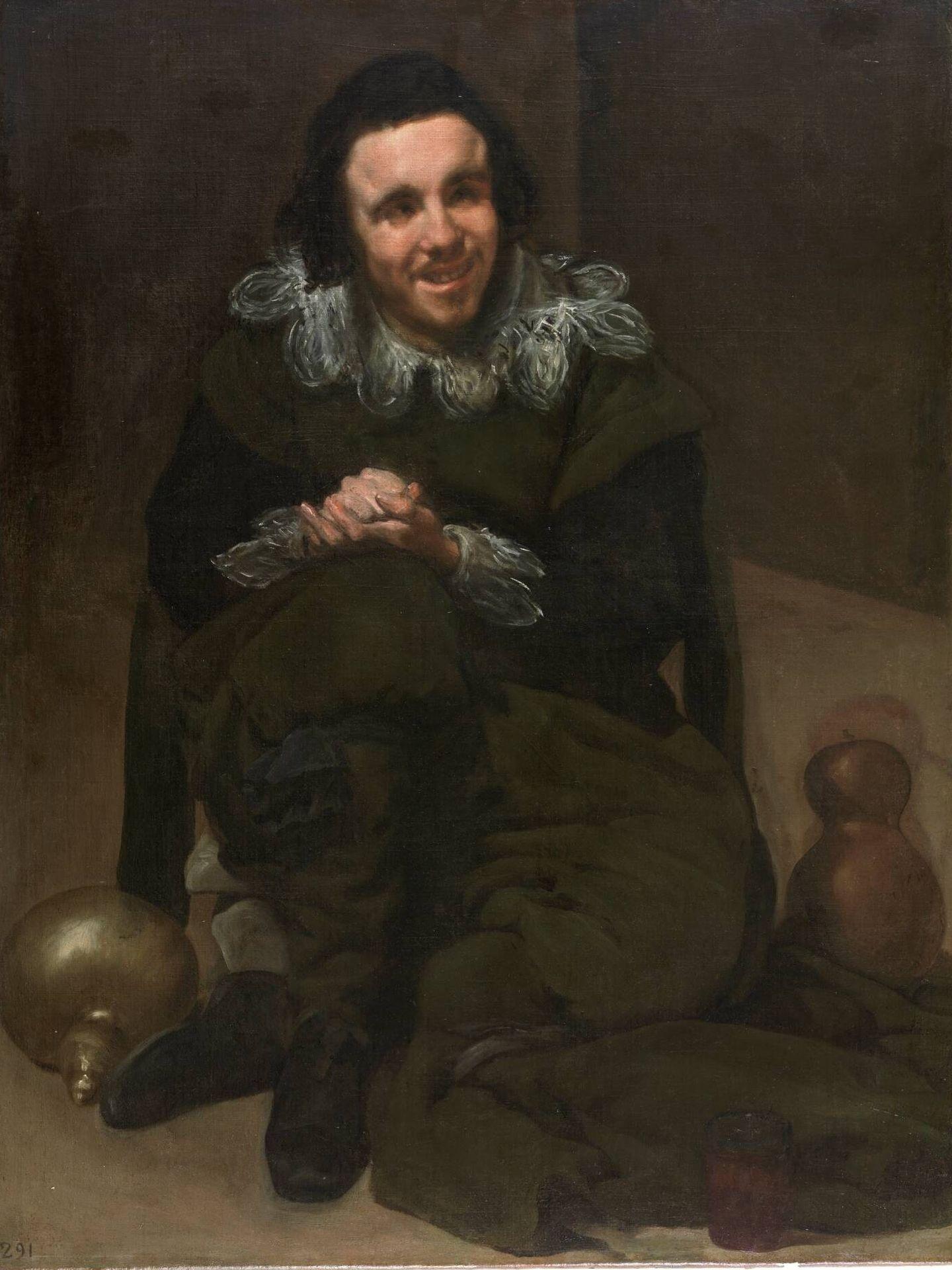'El bufón Calabacillas', Diego Velázquez, 1635-1639. Museo del Prado.