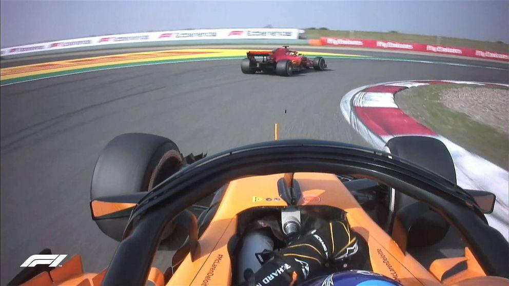 Así fue GP de China de F1 en directo: 'pelotazo' de Ricciardo y Alonso séptimo