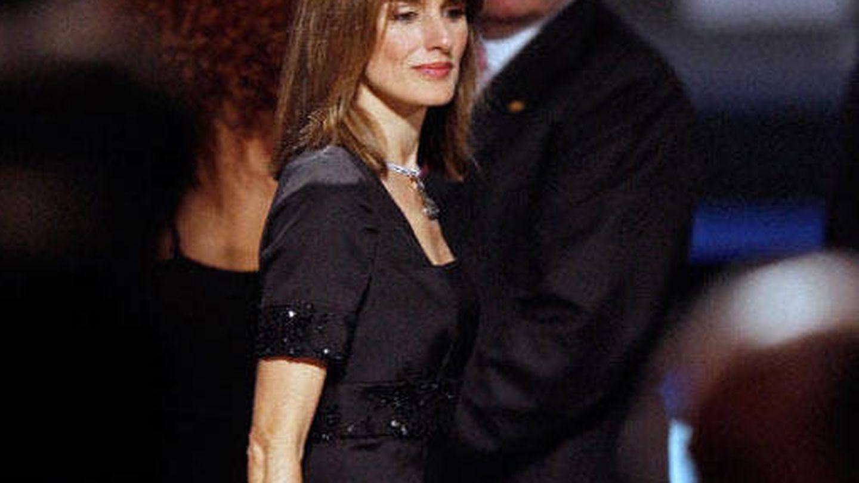 La Reina, con el collar en 2007. (EFE)