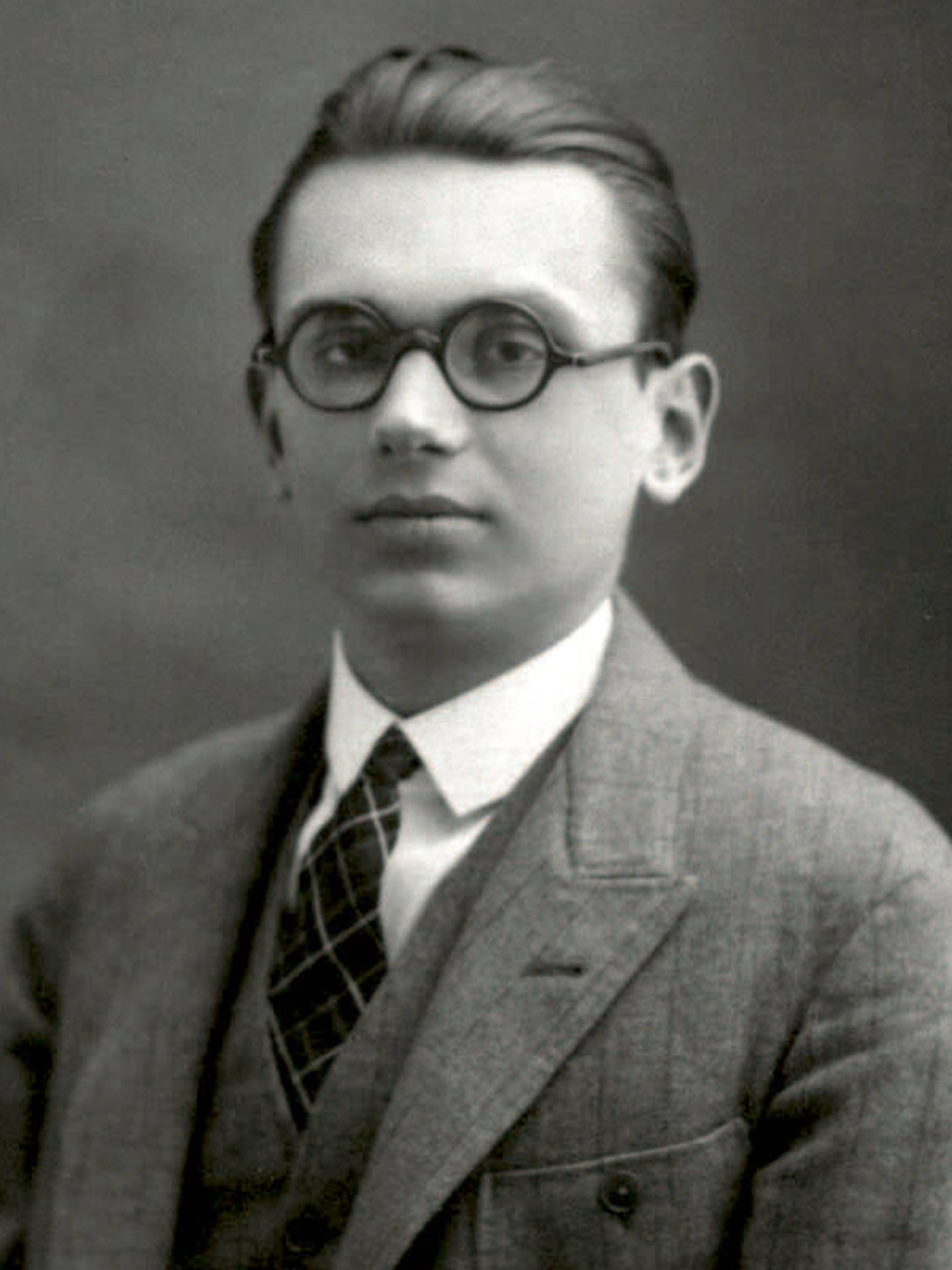 El joven Kurt Gödel, en 1925. (Wikipedia)