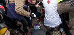 Post de Un chaleco amarillo pierde una mano en los disturbios por una granada de la policía