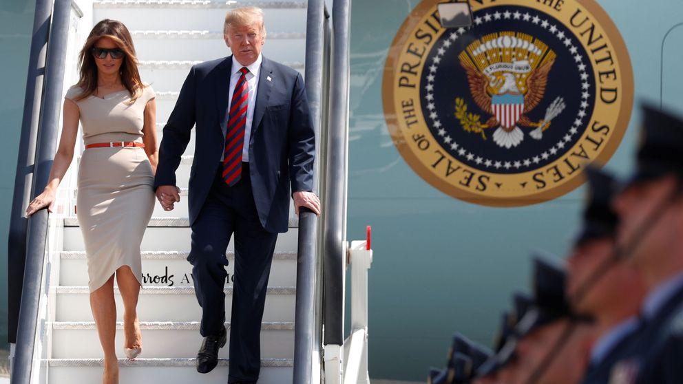 Melania Trump ya está en Londres: su agenda con encuentro con Isabel II incluido
