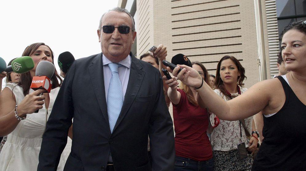 Foto: El expresidente de la Diputación de Castellón Carlos Fabra. (EFE)
