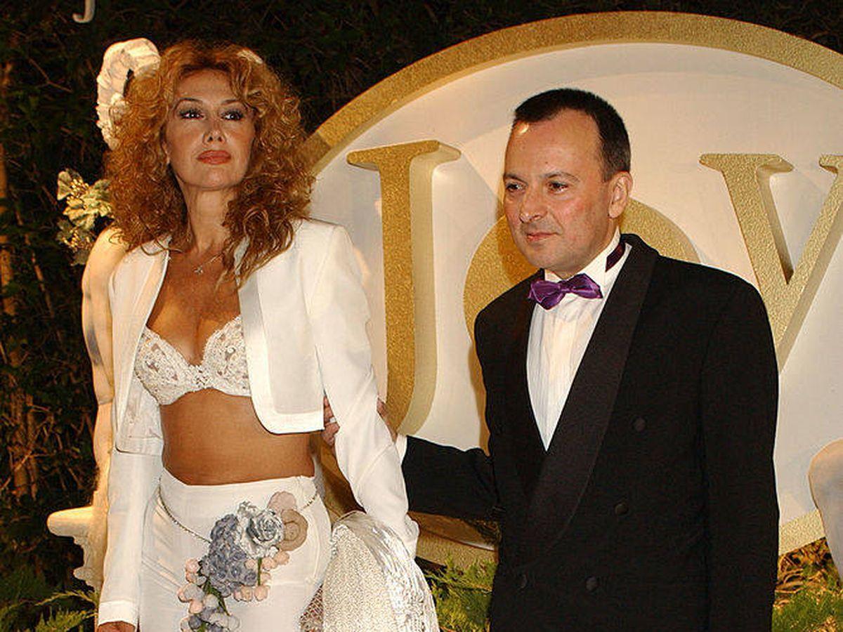Foto: Octavio Aceves junto a Victoria Vera en una imagen de archivo. (Getty)
