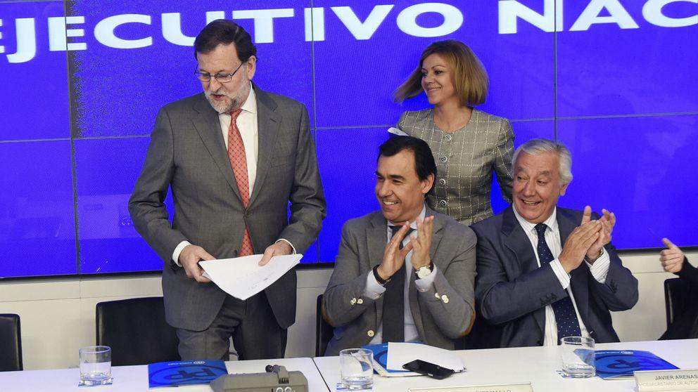 El PP ensaya el cierre de filas con Rajoy para aguantar hasta el 25-S