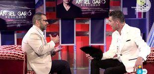 Post de Máximo del 'Deluxe' en el sábado con la entrevista de Ángel Garó