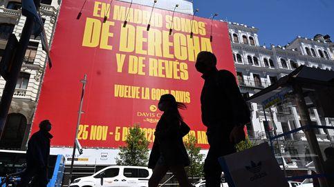 El polémico cartel que anuncia la Copa Davis: En Madrid somos de derecha y de revés