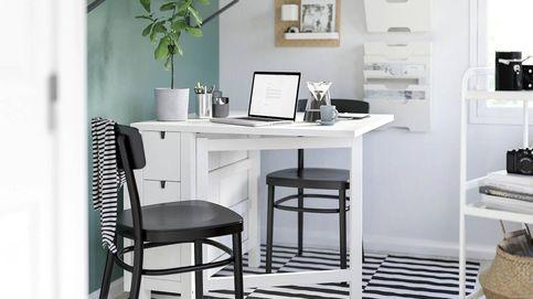 Esta mesa de Ikea es ideal para casas pequeñas y para las manualidades de tus hijos