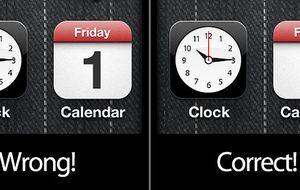 El '1' maldito de Apple: un fallo de diseño que corregirá iOS7