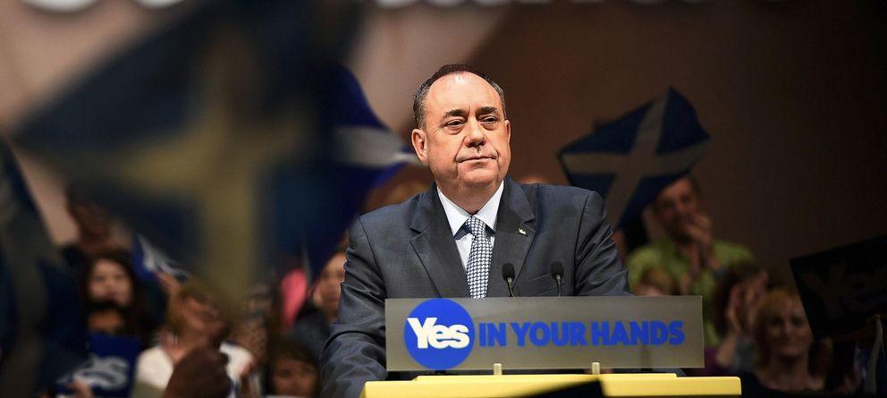 Foto: El ministro principal escocés y líder independentista, Alex Salmond. (Reuters)