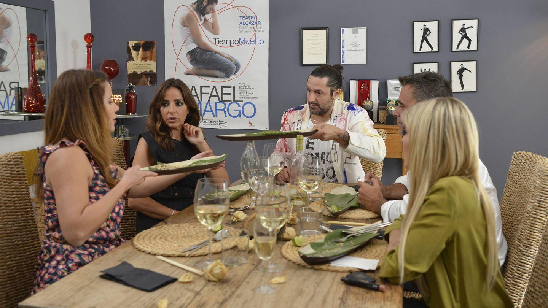 Imagen de una de las cenas de 'Ven a cenar conmigo'. (Cuatro)