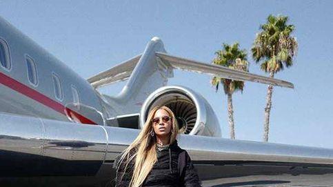 Beyoncé y el carísimo look elegido para viajar en (su) jet privado