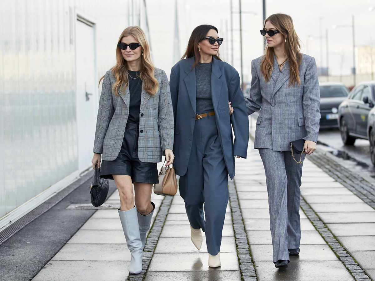 Foto: Los looks teñidos de gris invaden las calles. (Imaxtree)