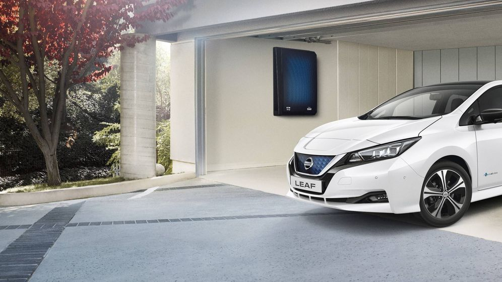 Foto: El sistema X-Storage permite conectar el coche con la red eléctrica de la casa y con el sistema eléctrico.