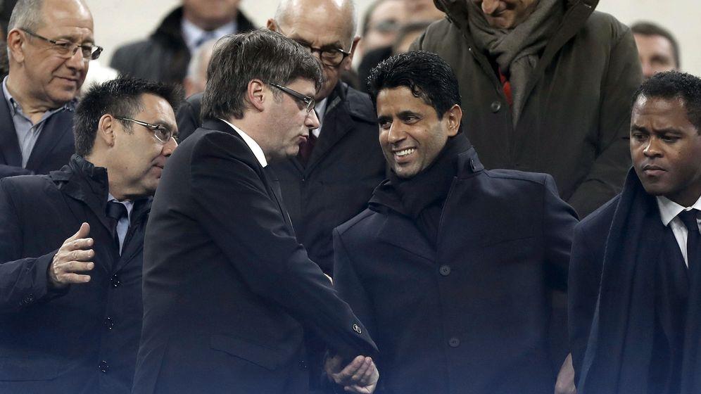Foto: Nasser Al-Khelaïfi no pagará el IRPF por Neymar. (EFE)