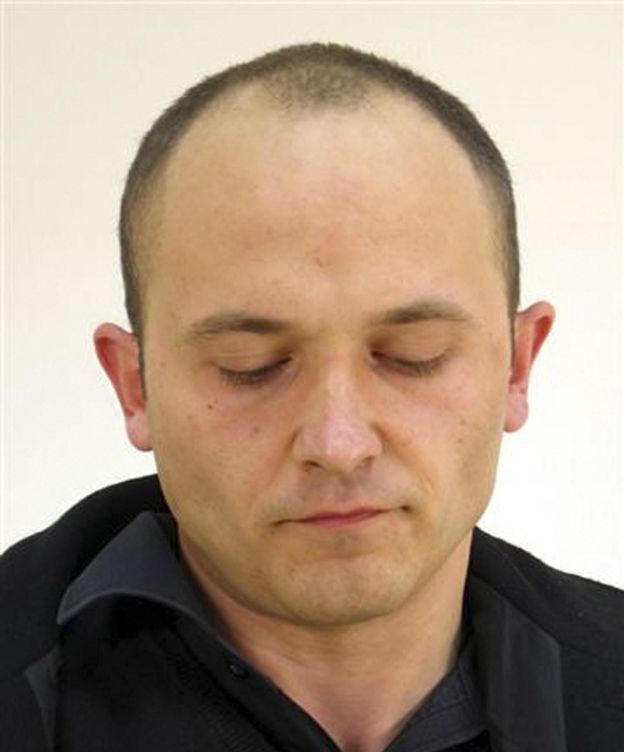 Foto: Aitor Elizarán, cuando fue detenido.
