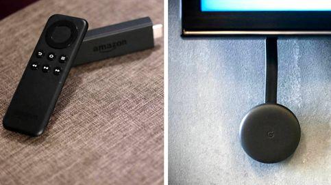 Tras la paz entre Amazon y Google... ¿Qué me compro, el Chromecast o el Fire TV Stick?