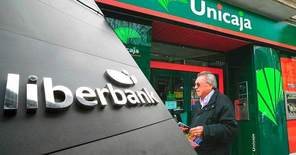 El nuevo ánimo de fusiones impulsa los títulos de Unicaja y Liberbank