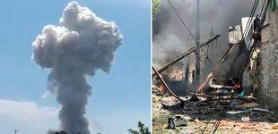 Post de Dos muertos y 30 heridos al explotar una casa con material pirotécnico en Tui