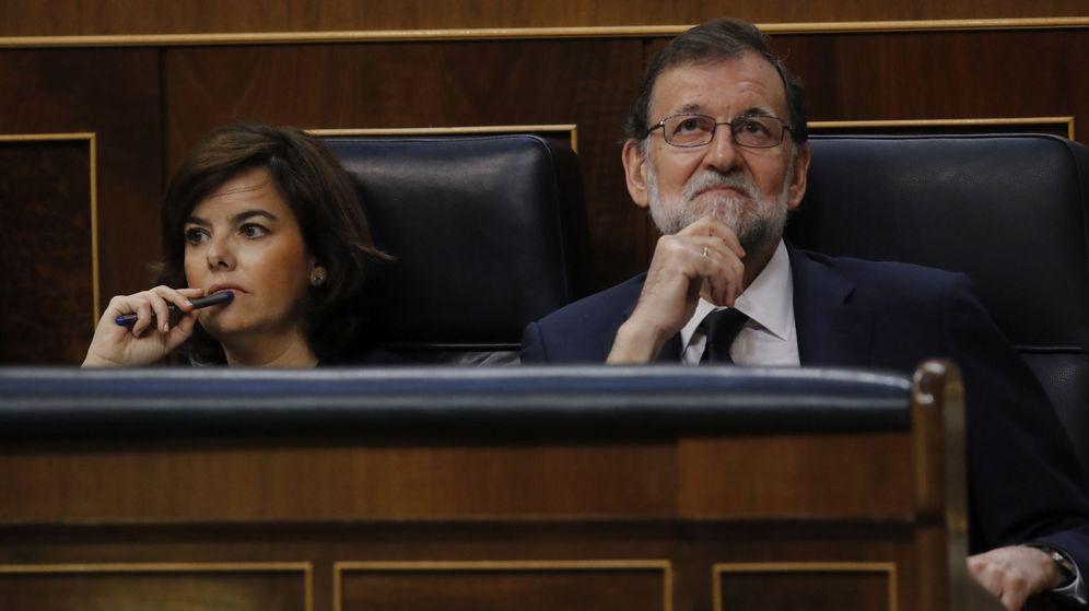 Foto: El congreso durante el debate de la moción de censura de Podemos contra Mariano Rajoy.