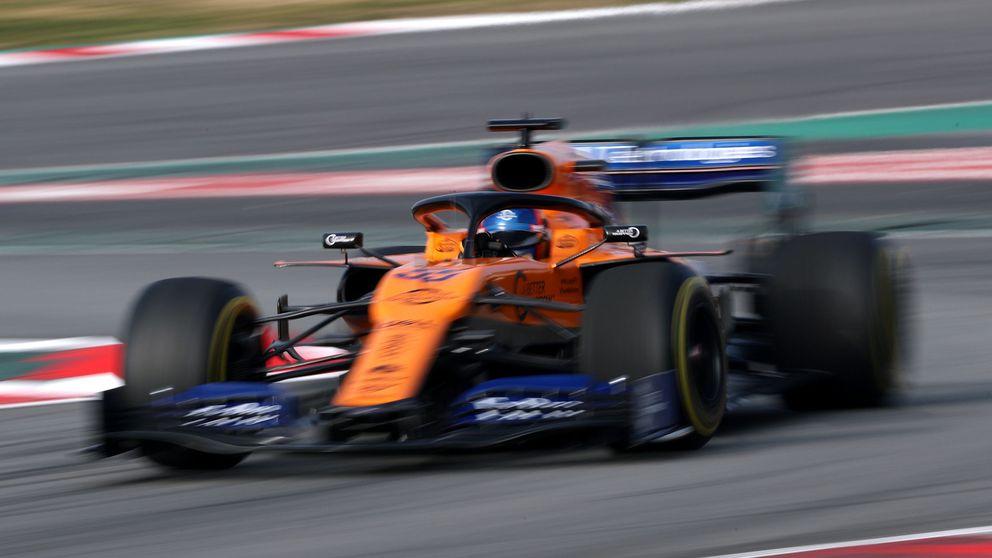 F1 2019: Carlos Sainz y su McLaren se quedan cerca de Ferrari aunque con truco