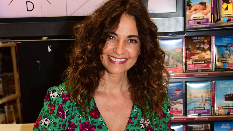 Mariló Montero, en la firma de su libro en Sevilla. (Cordon Press)